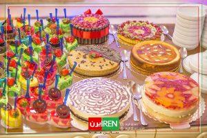 کیک مراسم ازدواج